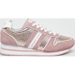 Versace Jeans - Buty. Szare buty sportowe damskie Versace Jeans, z jeansu. W wyprzedaży za 399,90 zł.