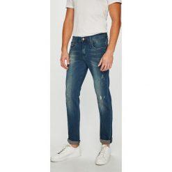 Armani Exchange - Jeansy. Niebieskie jeansy męskie slim Armani Exchange, z bawełny. Za 569,90 zł.