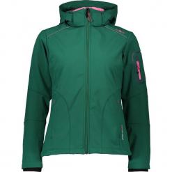 Kurtka softshellowa w kolorze zielonym. Zielone kurtki damskie marki CMP Women, m, z materiału. W wyprzedaży za 227,95 zł.