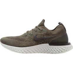 Nike Performance EPIC REACT FLYKNIT Obuwie do biegania treningowe cargo khaki/black. Brązowe buty do biegania damskie Nike Performance, z materiału. Za 639,00 zł.