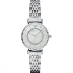 Zegarek EMPORIO ARMANI - Gianni T-Bar AR1908  Silver/Silver. Szare zegarki damskie marki Emporio Armani, l, z nadrukiem, z bawełny, z okrągłym kołnierzem. Za 1349,00 zł.