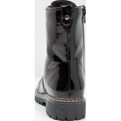 Botki damskie lity: Andre NOTHING Botki sznurowane noir
