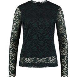 InWear ZELINE BLOUSE Bluzka black/deep teal. Zielone bluzki asymetryczne InWear, z elastanu. Za 419,00 zł.