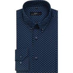 Koszula MICHELE  KDGE000091. Czarne koszule męskie na spinki marki TOM TAILOR DENIM, l, z bawełny, button down, z długim rękawem. Za 259,00 zł.