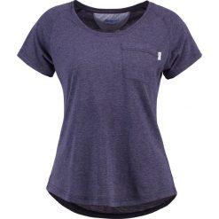 Bergans LYNGÖR LADY TEE  Tshirt basic  navy melange. Niebieskie topy sportowe damskie Bergans, s, z bawełny. Za 169,00 zł.