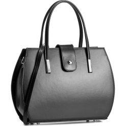 Torebka CREOLE - RBI10157 Czarny. Czarne torebki klasyczne damskie Creole, ze skóry. W wyprzedaży za 269,00 zł.