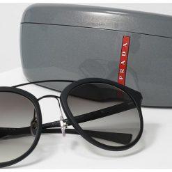 Prada Linea Rossa LINEA ROSSA LIFESTYLE Okulary przeciwsłoneczne black/grey. Czarne okulary przeciwsłoneczne męskie aviatory Prada Linea Rossa. Za 979,00 zł.