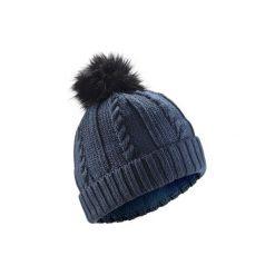 Czapka narciarska TORSADES. Niebieskie czapki damskie WED'ZE, z materiału. Za 49,99 zł.