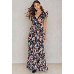 Długie sukienki: RAVN Sukienka Cloette - Black,Multicolor