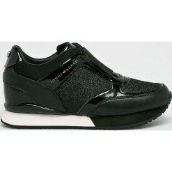 Tommy Hilfiger - Buty. Czarne buty sportowe damskie TOMMY HILFIGER, z gumy. Za 549,90 zł.