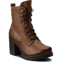 Botki LASOCKI - 1914-03 Brązowy. Brązowe buty zimowe damskie Lasocki, ze skóry, na obcasie. Za 249,99 zł.