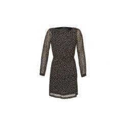 Sukienki krótkie Marc O'Polo  ALVY. Sukienki małe czarne marki Marc O'Polo, polo, z krótkim rękawem. Za 647,20 zł.