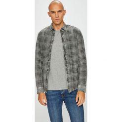 Only & Sons - Koszula. Szare koszule męskie na spinki marki S.Oliver, l, z bawełny, z włoskim kołnierzykiem, z długim rękawem. Za 149,90 zł.