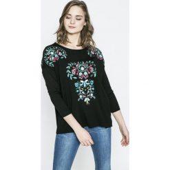 Desigual - Sweter Negundo. Szare swetry klasyczne damskie marki Desigual, m, z dzianiny, z okrągłym kołnierzem. W wyprzedaży za 219,90 zł.