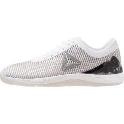 Reebok CROSSFIT NANO 8.0 Obuwie treningowe white/grey/pure silver. Czarne buty sportowe damskie marki Reebok, z materiału, reebok crossfit. Za 549,00 zł.