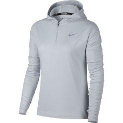 Bluza do biegania damska NIKE ELEMENT HALF ZIP HOODIE / 855515-043 - NIKE ELEMENT HALF ZIP HOODIE. Szare bluzy rozpinane damskie marki Nike. Za 179,00 zł.