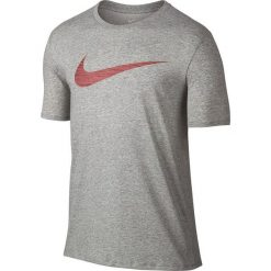 Nike Koszulka męska Men's Dry Swoosh Training T-Shirt szara r. L (839893 063). Szare koszulki sportowe męskie marki Nike, l. Za 95,01 zł.