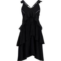 Sparkz PAULA DRESS Sukienka letnia black. Czarne sukienki letnie Sparkz, s, z materiału. Za 419,00 zł.