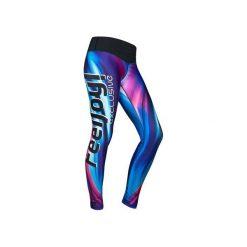 Legginsy damskie do biegania: LEGGINSY EXCLUSIVE BLUE WAVE