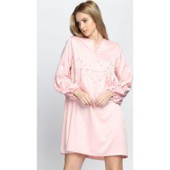 Różowa Sukienka Saving Grace. Czerwone sukienki hiszpanki Born2be, na lato, m, mini. Za 59,99 zł.