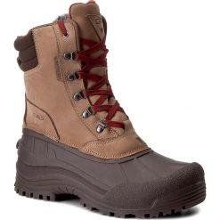 Botki męskie: Śniegowce CMP - Kinos Snow Boots Wp 3Q48867 Wood Q703