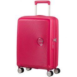 American Tourister Walizka Soundbox 55, Pink. Różowe walizki American Tourister. W wyprzedaży za 449,00 zł.