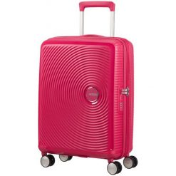 American Tourister Walizka Soundbox 55, Pink. Różowe walizki marki American Tourister. W wyprzedaży za 449,00 zł.