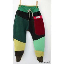 PATCH PANTS spodnie 74 - 98 cm burgund. Czerwone spodnie dresowe dziewczęce marki Pakamera, z dresówki. Za 89,00 zł.