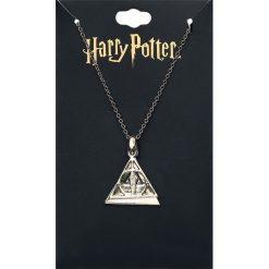 Harry Potter Deathly Hallows Naszyjnik złoty. Żółte naszyjniki damskie Harry Potter, złote. Za 42,90 zł.