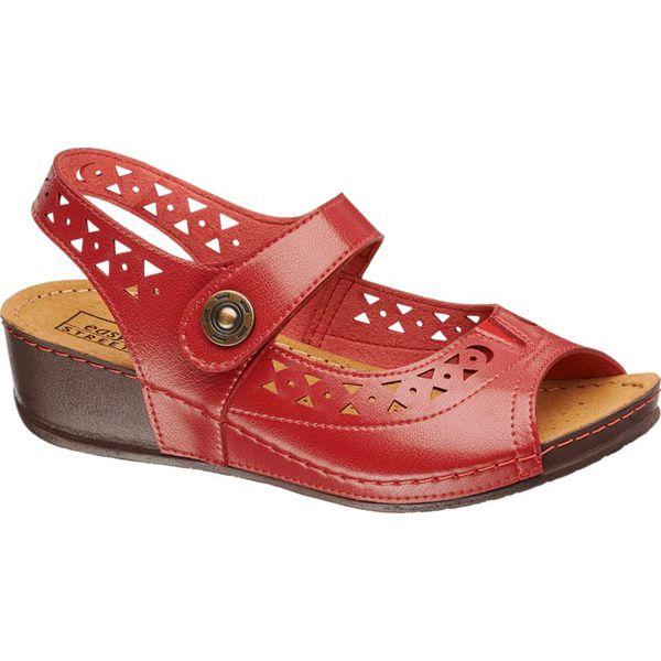 Sandały damskie Easy Street różowe