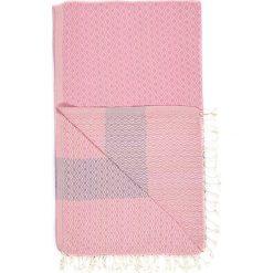 Chusta hammam w kolorze różowo-fioletowym - 180 x 95 cm. Czarne chusty damskie marki Hamamtowels, z bawełny. W wyprzedaży za 43,95 zł.