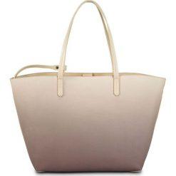 Shopper bag damskie: Torba shopper w cieniowanym kolorze bonprix cielisto-matowy lila