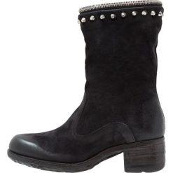 A.S.98 Kowbojki i Buty motocyklowe nero. Czarne buty zimowe damskie marki A.S.98, z materiału. W wyprzedaży za 695,40 zł.