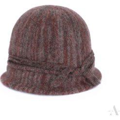 Czapka damska Klasyczny melanż brązowo-bordowa. Brązowe czapki zimowe damskie marki Art of Polo, melanż. Za 61,09 zł.