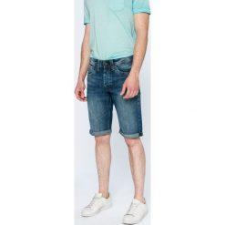 Pepe Jeans - Szorty Cash. Szare bermudy męskie Pepe Jeans, z bawełny, casualowe. W wyprzedaży za 179,90 zł.
