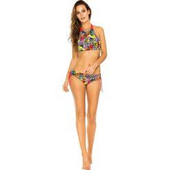 """Biustonosz bikini """"Fiji"""" w kolorze czerwonym ze wzorem. Czerwone biustonosze PHAX, z materiału. W wyprzedaży za 130,95 zł."""