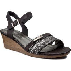 Rzymianki damskie: Sandały VIA RAVIA – WS17036-3 Czarny