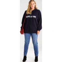 Bluzy rozpinane damskie: Missguided Plus REVOLUTION  Bluza z kapturem navy