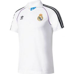 Adidas Koszulka męska RM Jersey biała r.XL (BQ3221). Białe koszulki sportowe męskie Adidas, m, z jersey. Za 226,07 zł.
