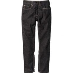 Dżinsy ze stretchem Slim Fit Straight bonprix czarny denim. Niebieskie jeansy męskie relaxed fit marki House. Za 59,99 zł.