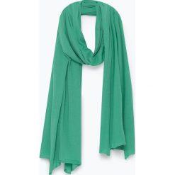 Szaliki damskie: Szal w kolorze zielonym