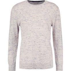 Swetry klasyczne męskie: Scotch & Soda Sweter mottled light grey