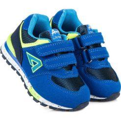 Buciki niemowlęce: American Club Buty dziecięce HESTIA niebieskie r. 21 (75108)