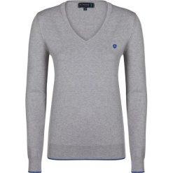 """Swetry klasyczne damskie: Sweter """"Air"""" w kolorze szarym"""