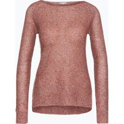 Marie Lund - Sweter damski z lnu, czerwony. Czerwone swetry klasyczne damskie Marie Lund, xl, ze splotem. Za 179,95 zł.