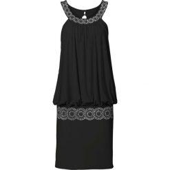 Sukienki hiszpanki: Sukienka koktajlowa bonprix czarny