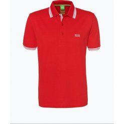 BOSS Athleisurewear - Męska koszulka polo – Paddy, czerwony. Czerwone koszulki polo BOSS Athleisurewear, m, z bawełny, z krótkim rękawem. Za 329,95 zł.