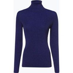 Marie Lund - Sweter damski, niebieski. Niebieskie swetry klasyczne damskie Marie Lund, m, z włókna. Za 249,95 zł.