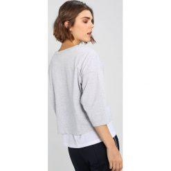 Bluzki asymetryczne: Champion Reverse Weave CLASSIC BIG LOGO Bluzka z długim rękawem mottled grey