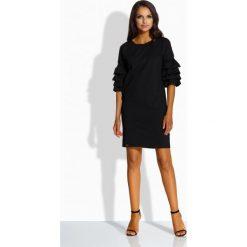 Sukienki: Luźna sukienka w stylu hiszpańskim czarny